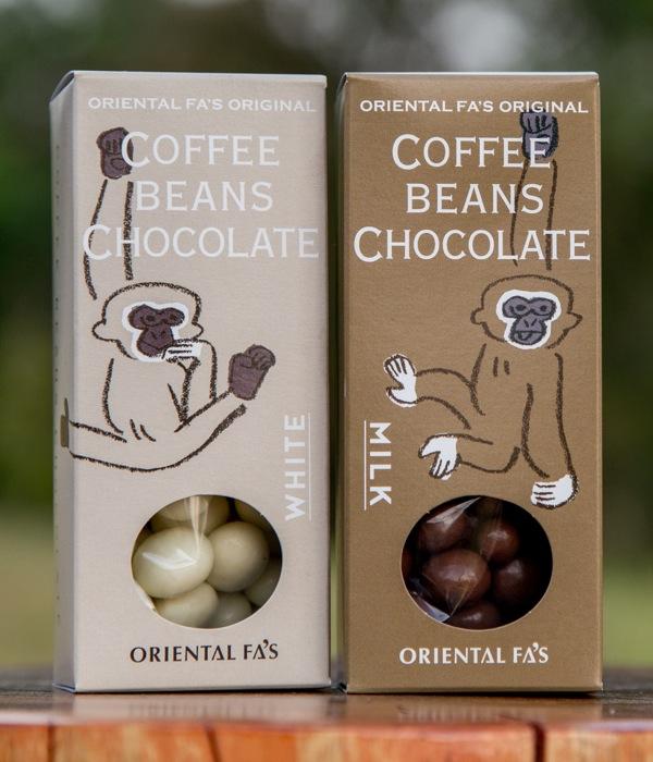 左がホワイト、右がミルク
